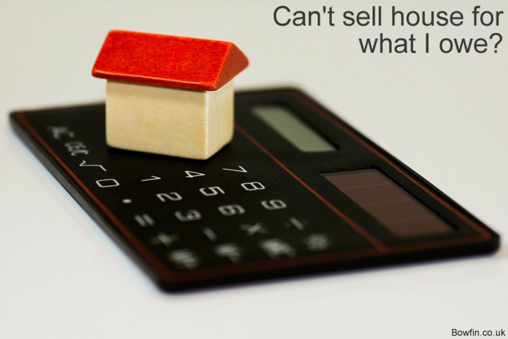 Can't sell house for what I owe