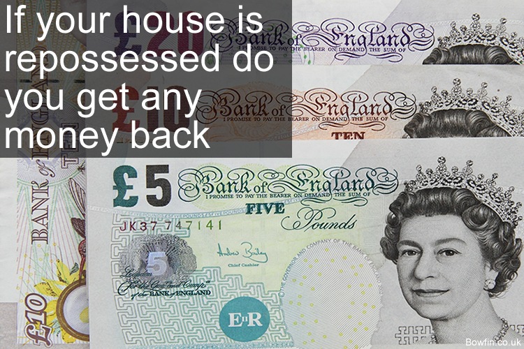 If your house is repossessed do you get any money back