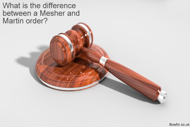 What is the difference between a Mesher and Martin order