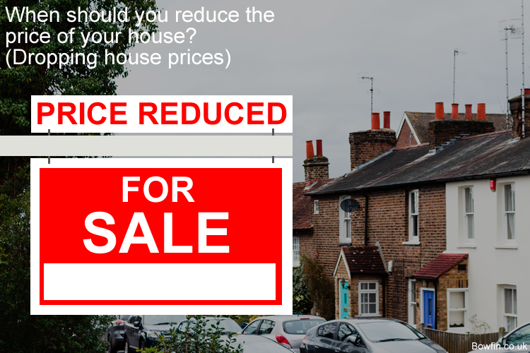 When should you reduce the price of your house - Dropping house prices