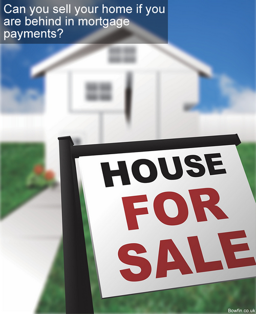 Can you sell your home if you are behind in mortgage payments