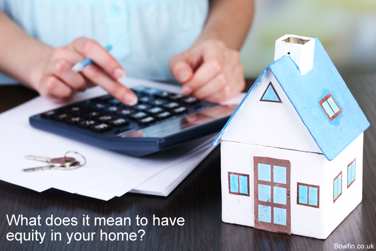 What does it mean to have equity in your home?