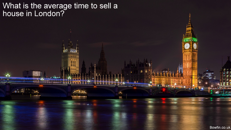 Fast house sale London - What is the average time to sell a house in London