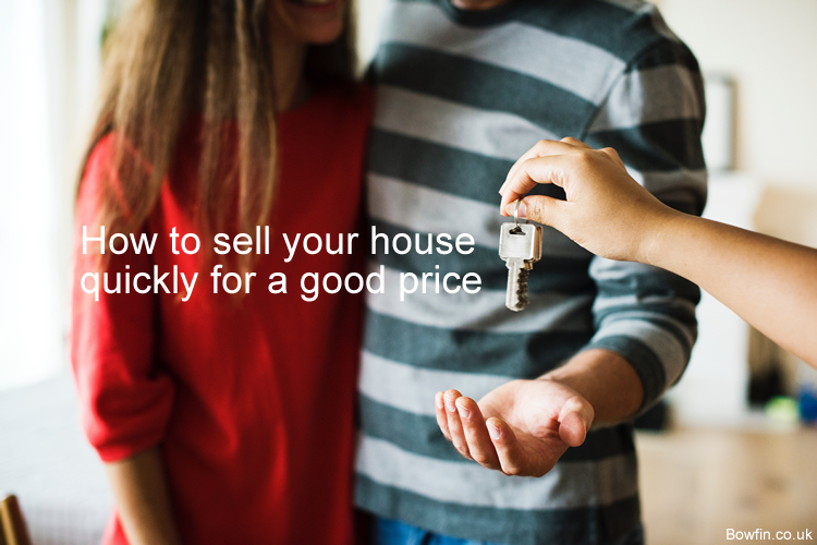 How to sell your house quickly for a good price