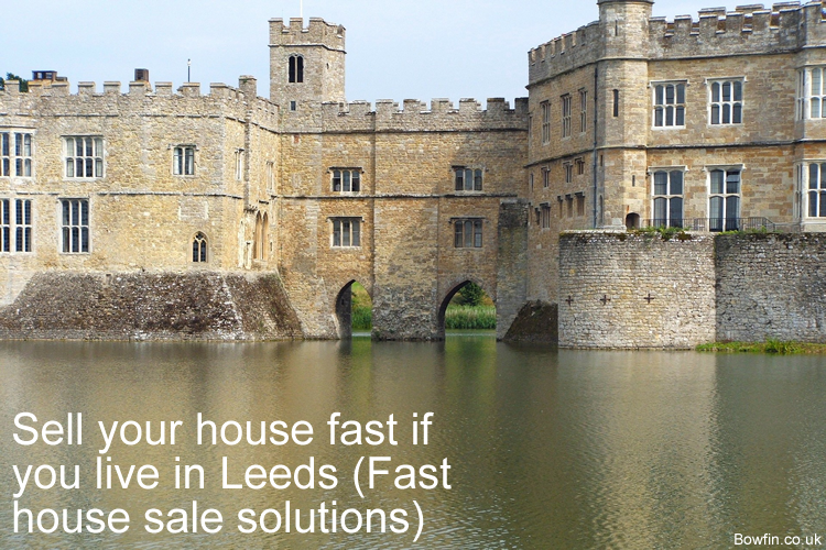 Sell your house fast if you live in Leeds - Fast house sale solutions