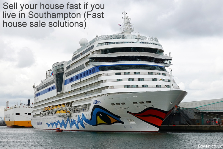 Sell your house fast if you live in Southampton - Fast house sale solutions