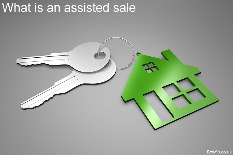 What is an assisted house sale - Assisted sale cash advance