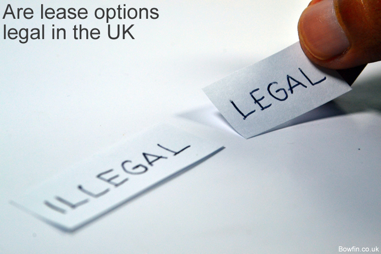 Are lease options legal in the UK