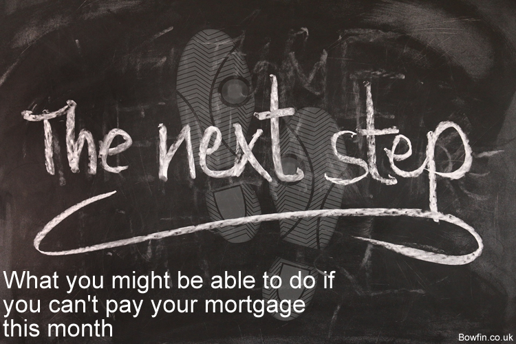 What you might be able to do if you can't pay your mortgage this month