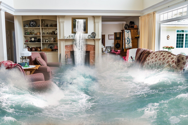 The house could get flooded after contracts are exchanged
