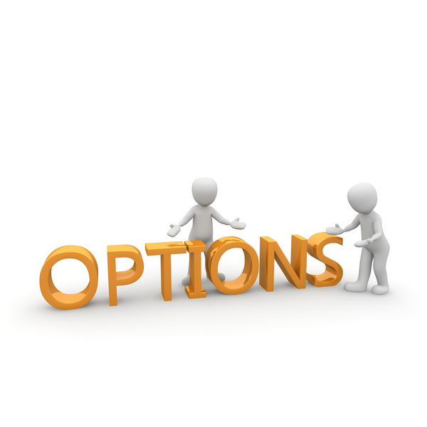 What makes an option contract legally enforceable large