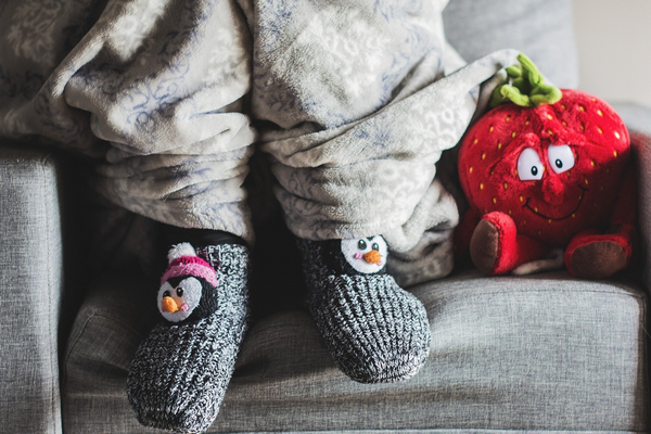 What is it like living without central heating