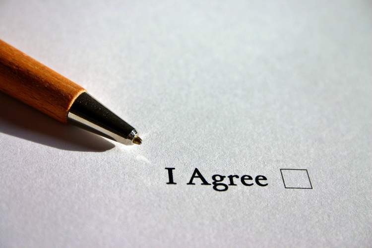 What agreements are required for property lease options