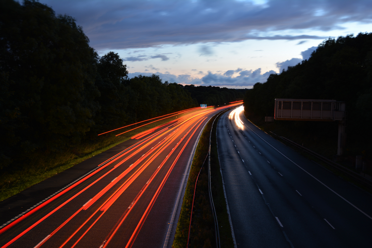 What are the factors to consider with buying a house next to a motorway